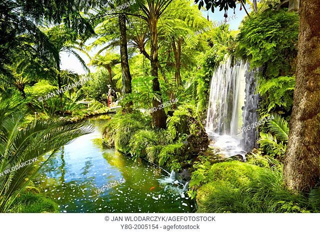Monte Palace Tropical Garden (Japanese garden) - Monte, Madeira, Portugal