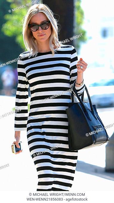 Kristin Cavallari seen returning to her car after shopping at Melrose place. Featuring: Kristin Cavallari Where: Los Angeles, California