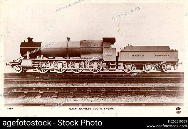 GWR Express Goods Engine, 1934. Creator: Unknown