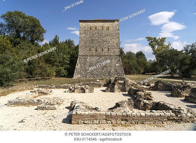Venezianischer Turm, Butrint, Albanien, Europa | Venitian tower in Butrint or Buthrotum, Albania, Europe