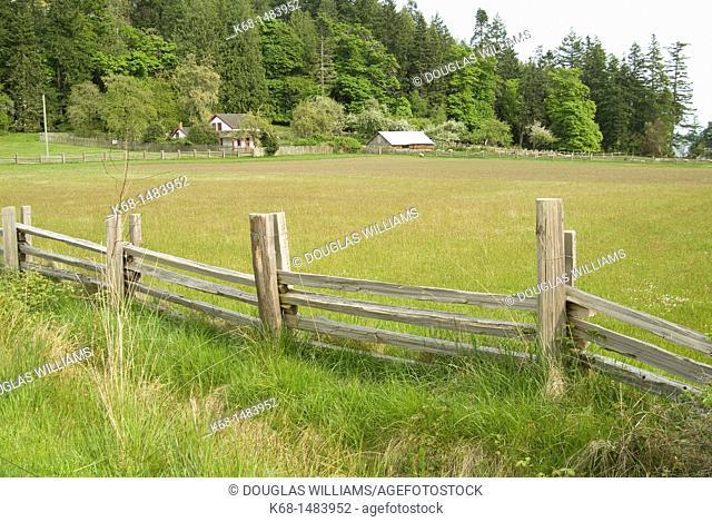 Farm at Ruckle Park, Salt Spring Island, BC, Canada