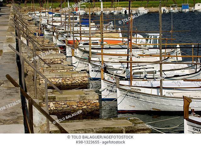 Porto Colom Migjorn Felanitx Mallorca Baleares Spain
