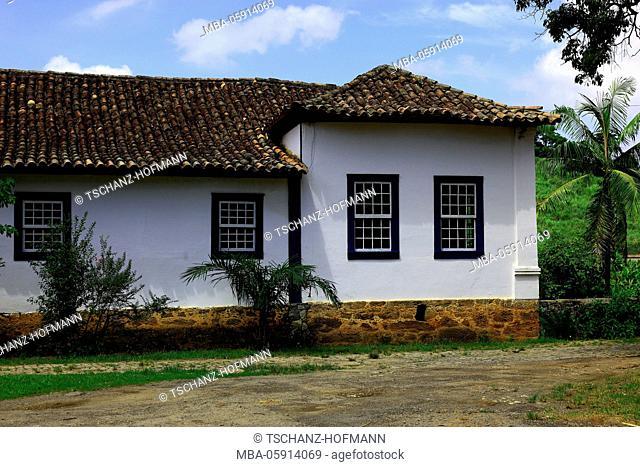 Coffee farm Fazenda Toquara, nearby Vassouras, at the federal state Rio de Janeiro, Brazil