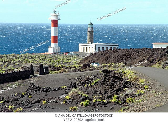 Lighthouses, Punto de Fuencaliente, La Palma, Canary islands, Spain