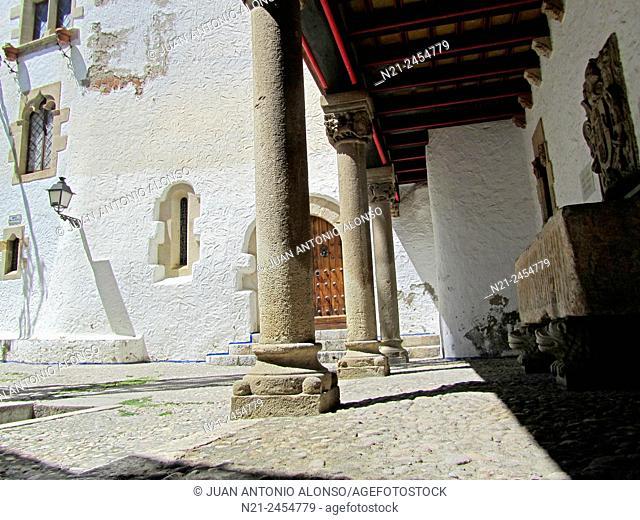 Old Quarter. Sitges, Garraf, Barcelona, Catalonia, Spain, Europe
