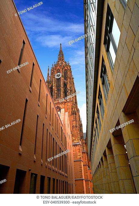 Frankfurt Cathedral Kaiserdon St Bartholomaus in Germany