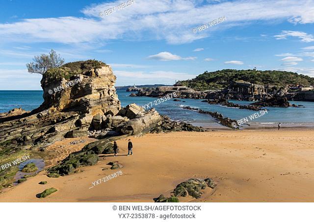 Playa del Camello, Santander, Cantabria, Spain