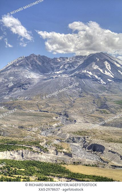 Mt St Helens, Mt St Helens National Volcanic Monument, Washington, USA
