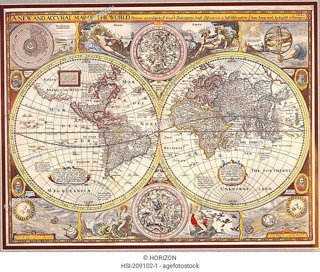 Artwork, Map, Historical map