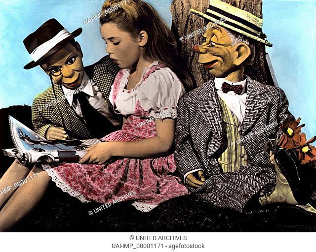 Micky, Donald und Goofy im Märchenland, (FUN AND FANCY FREE) USA 1947, Regie: Wolfgang Reithermann, LUANA PATTEN, Stichwort: Puppen