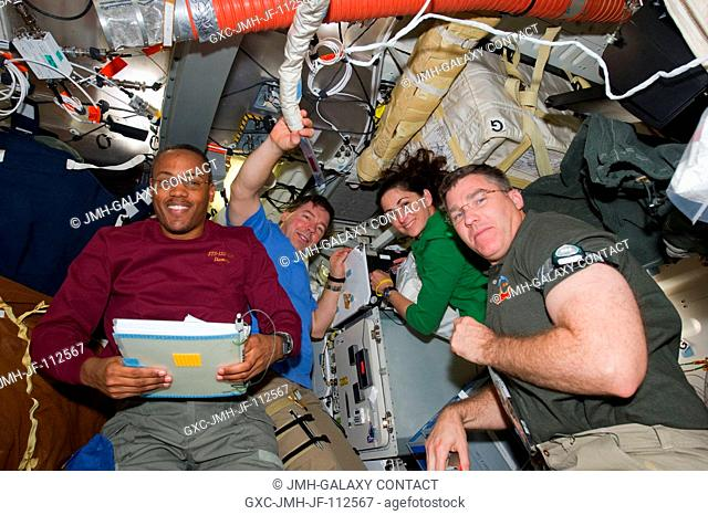Traffic onboard the space shuttle Discovery and the International Space Station has been brisk lately as the STS-133 crew members and the cosmonauts and...