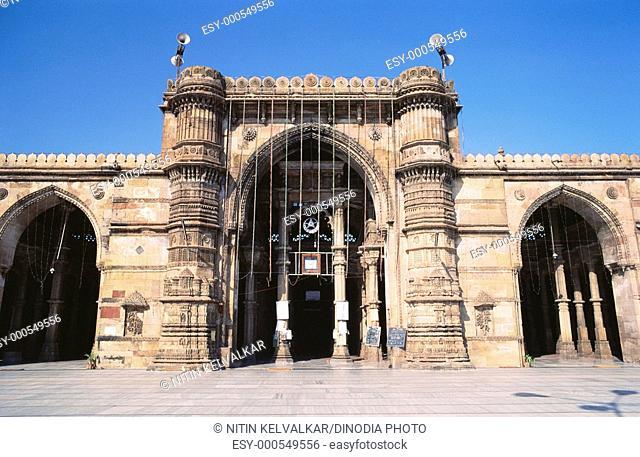 Jama masjid in 1423 AD , Ahmedabad , Gujarat , India