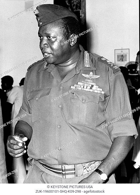 Apr 01, 1983 - London, England, United Kingdom - Idi Amin Dada Oumee (c.1925 – 16 August 2003), commonly known as Idi Amin