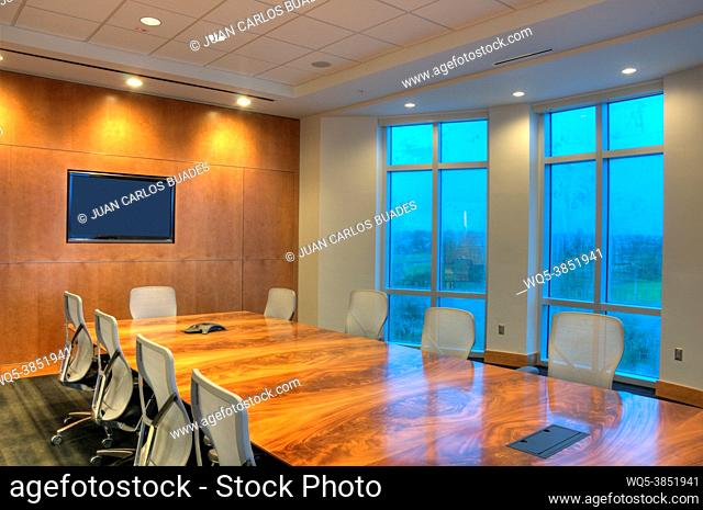Office interior company business center