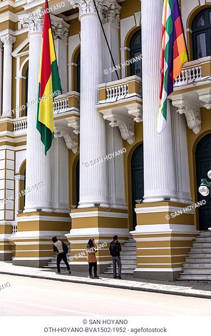 House of Parliament, Plaza Murillo, Lapaz, Bolivia, South America