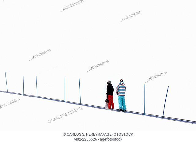 Ski at Innsbruck, Tyrol, Austria