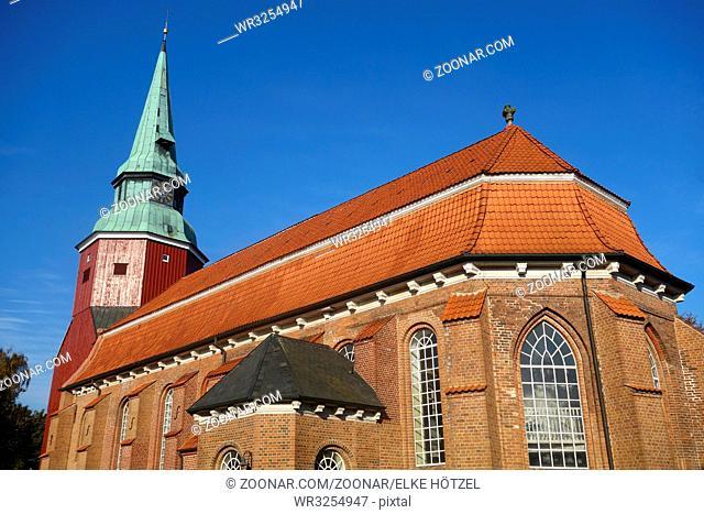 St Martini Et Nicolai Kirche Steinkirchen, steinkirchen, martinikirche, st martinikirche, nicolaikirche, kirchturm, St Martini et NicolaiKirche, Steenkark
