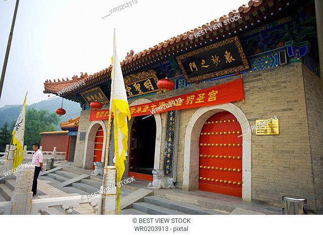 Architecture in the Hua Qing Palace,Hua Qing,Huaqing,Xian