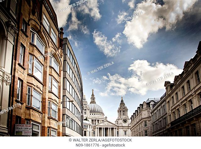 Europe, england, london, St Paul's Cathedral