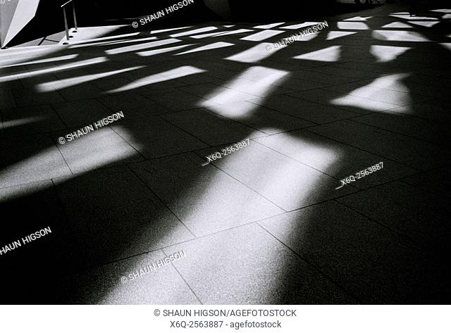 Beautiful light and shadow in London in England in Great Britain in the United Kingdom UK Europe