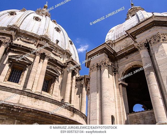 Dome of St. Peter's Basilica is the tallest dome in the world