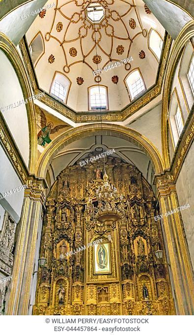 Capilla Chapel San Fco Church San Francisco Monastery Complex Madera Street Mexico City Mexico