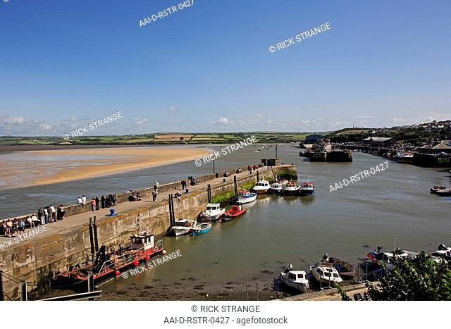 Harbour, Padstow, Cornwall