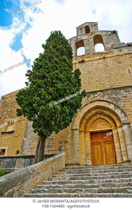 Church, Selva, Majorca, Balearic Islands, Spain