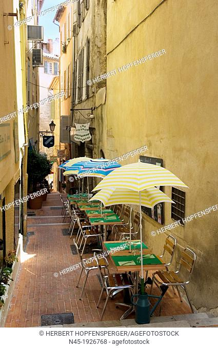 Lane; Grasse; Restaurant; Bistro; Provence; France