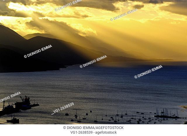 Ushuaia, Beagle Bay, Tierra del Fuego, Argentina