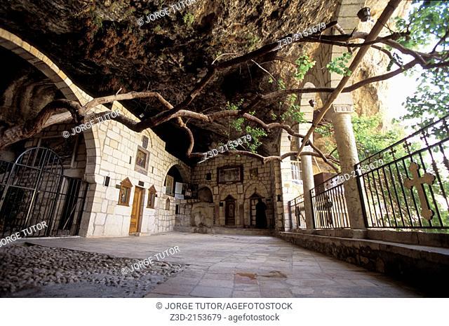 Convent of St. Thecla (Deir Mar Takla), Maaloula, or Ma'lula, Syria