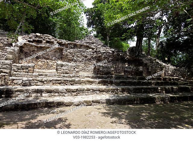 Cobá: Mayan Archeological Ruins at Yucatan Peninsula