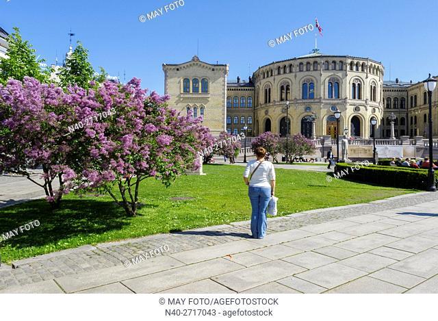 Parliament, Oslo, Norway