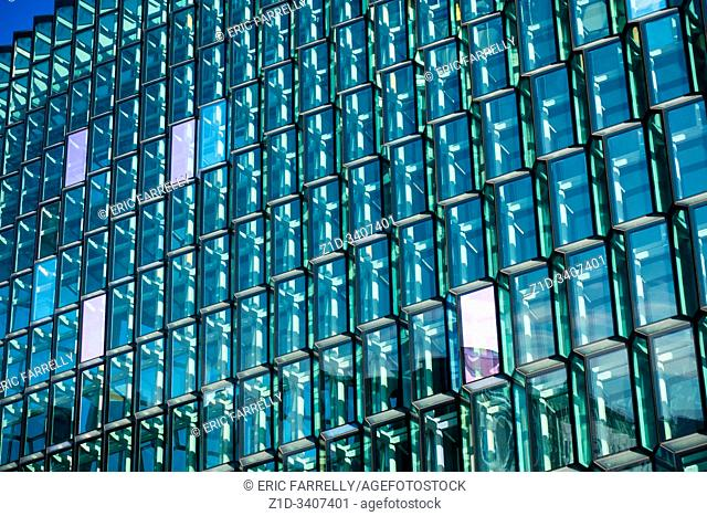 Reykjavik's innovative concert hall, Harpa, with its award-winning architecture,