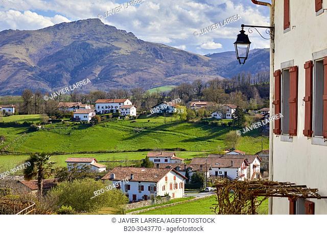 Sara, Sare, Pyrénées-Atlantiques department, Aquitaine region, France, Europe