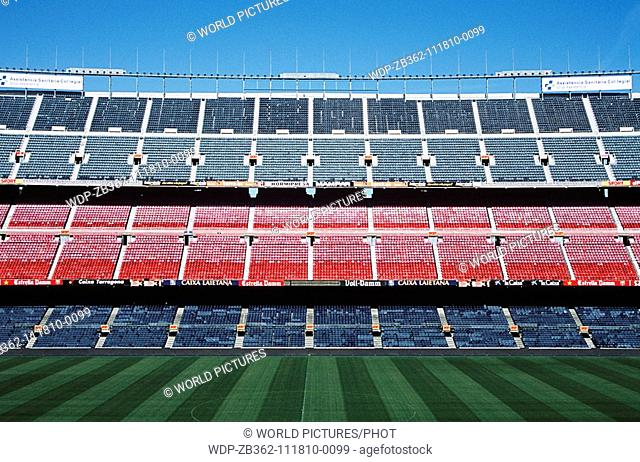 Nou Camp Stadium, Barcelona Football Club, Barcelona, Spain Date: 02 04 2008 Ref: ZB362-111810-0099 COMPULSORY CREDIT: World Pictures/Photoshot