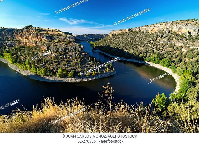 Hoces del Río Duratón Natural Park, Sepúlveda, Segovia, Castilla y León, Spain, Europe
