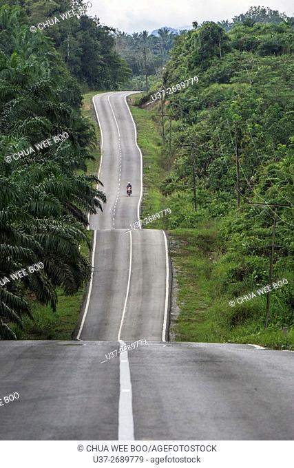 Bau-Gumkbang road, Sarawak, Malaysia