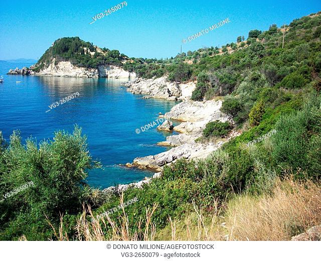 Lefkada Island, Ionian Sea, Greece, panoramic view
