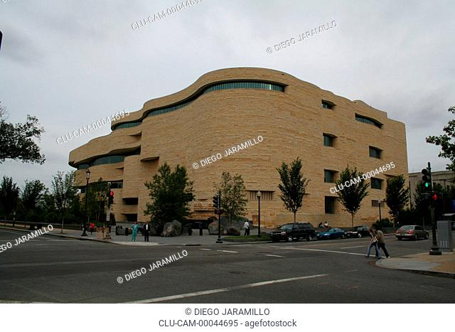 National Museum of the American Indian, Washington D.C, District of Columbia, United States, North America