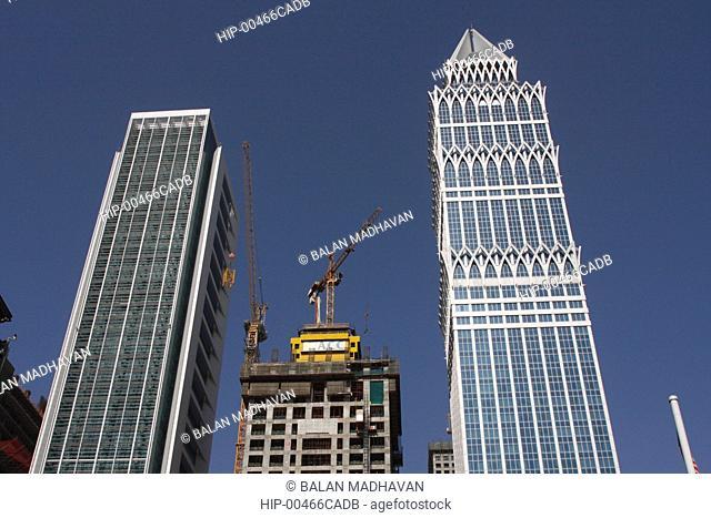 HIGHRISE BUILDINGS IN DUBAI, UAE