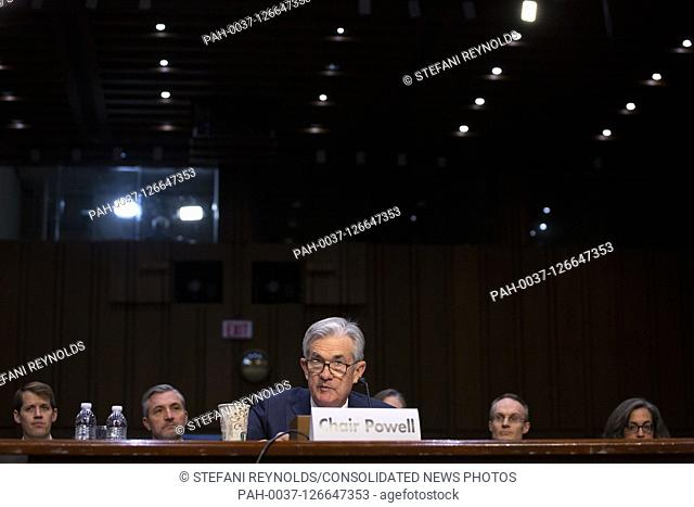 ChairBoard of Governors of the Federal Reserve System Jerome Powell testifies before the U.S. Congress Joint Economic Committee on Capitol Hill in Washington D