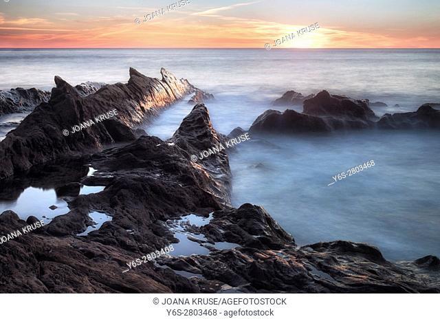 El Golfo, Lanzarote, Canary Islands, Spain, Europe