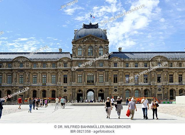 Palais du Louvre, 1st Arrondissement, Paris, France