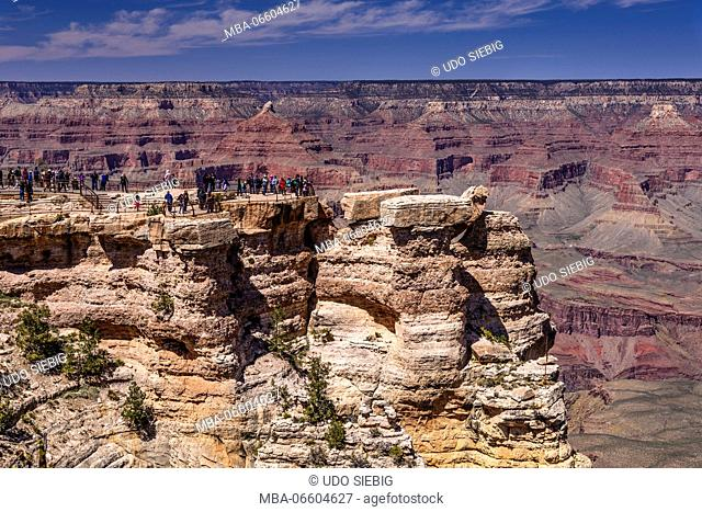 The USA, Arizona, Grand canyon National Park, South Rim, Mather Point