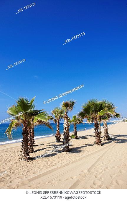 El Francas beach  El Vendrell, Catalonia, Spain