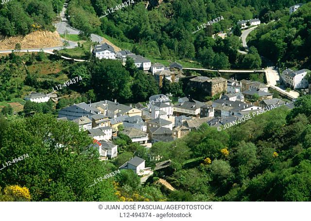 Navia de Suarna. Lugo province, Galicia, Spain