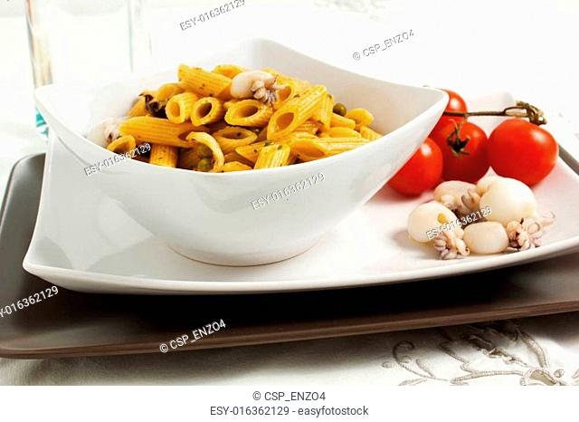 pasta with cuttlefish