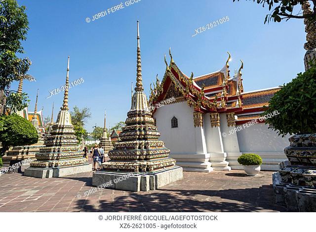 Wat Po, Buddhist temple, Bangkok, Thailand, Asia