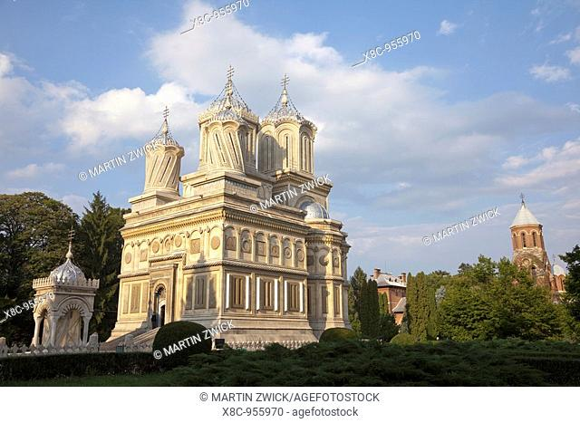 Episcopal Cathedral of Curtea de Arges is one of the most important examples of religious architecture in Romania and burial place for many Romanian kings...